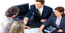 Wizyta w banku i wniosek o kredyt
